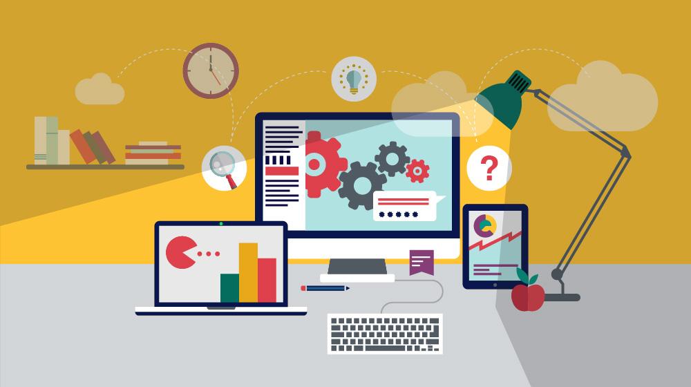 Custom e-learning development services