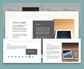 Articulate Storyline template startup, Articulate Storyline templates