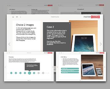 Lectora template set - Startup