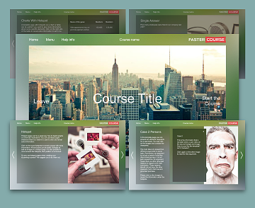 Articulate Storyline templates City
