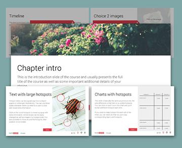 Storyline info templates