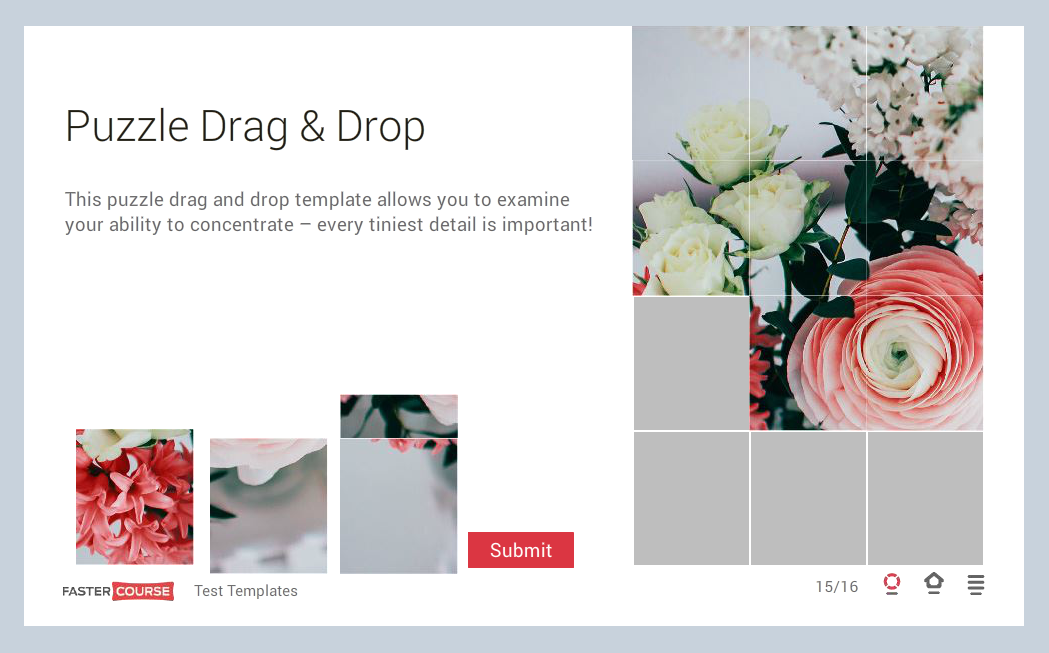 Storyline template guide e learning templates fastercourse for Weebly drag and drop templates
