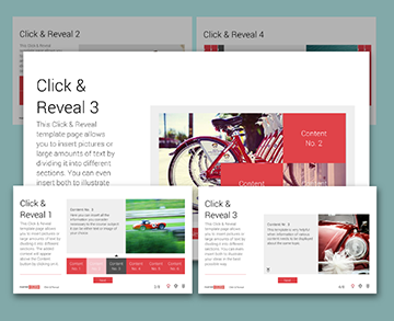 Storyline Click & reveal template