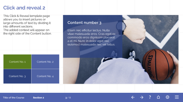 elearning templates click and reveal