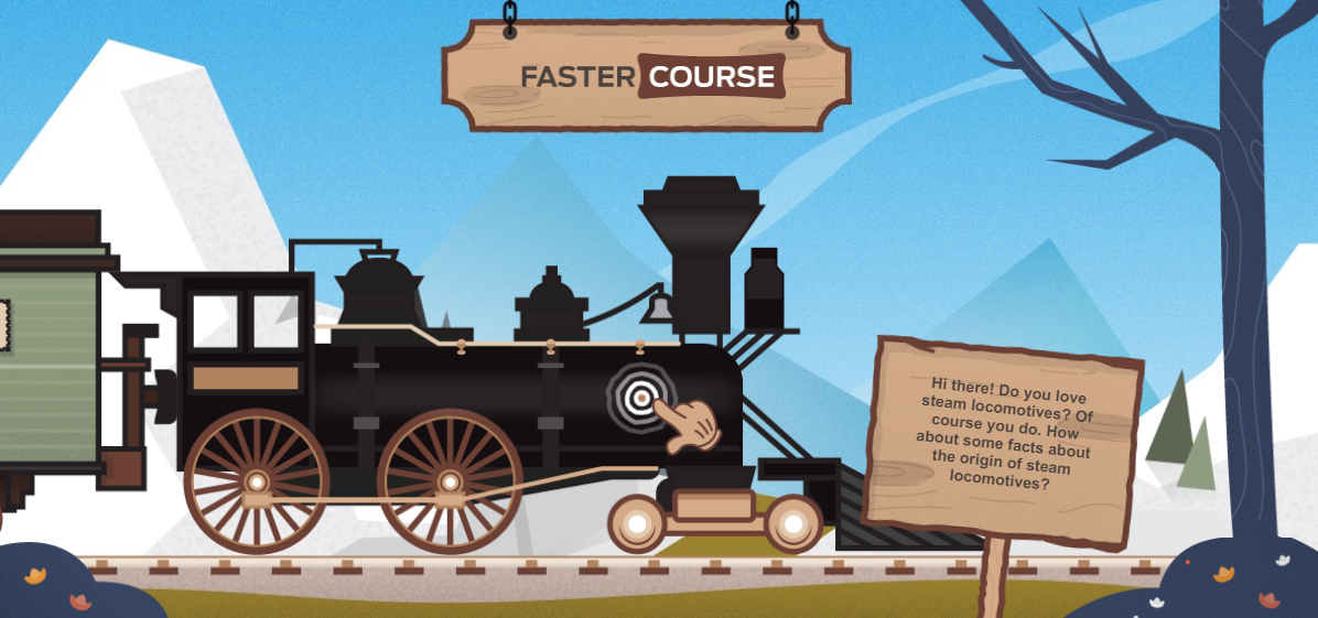 FasterCourse_Timeline_Trains