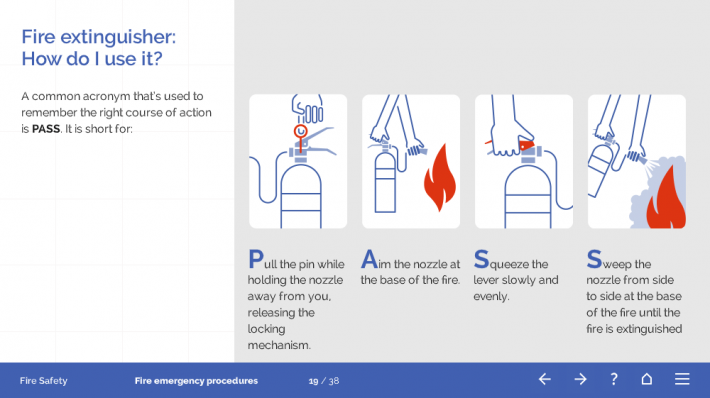Fire Safety Course Template
