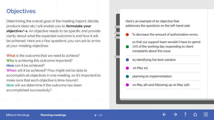 Efficient Meetings Course Template