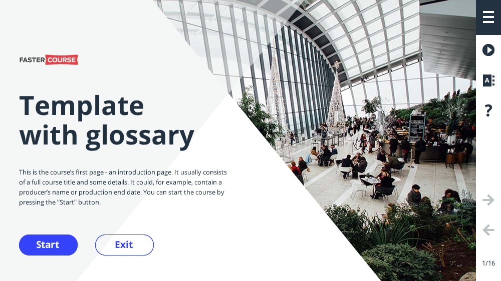 Glossary Template