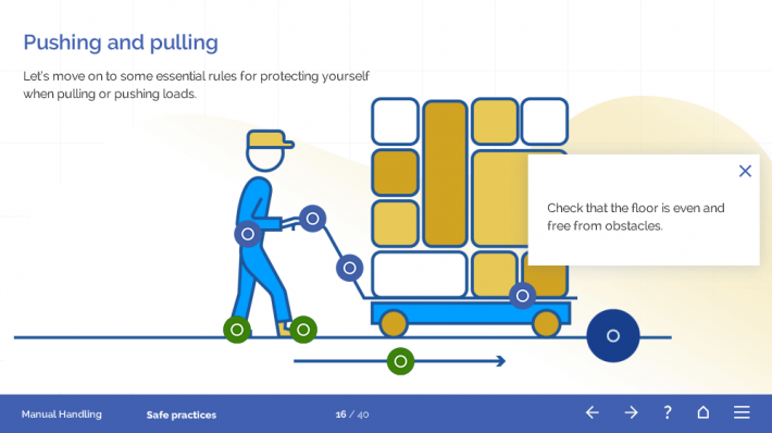 Manual Handling Course Template