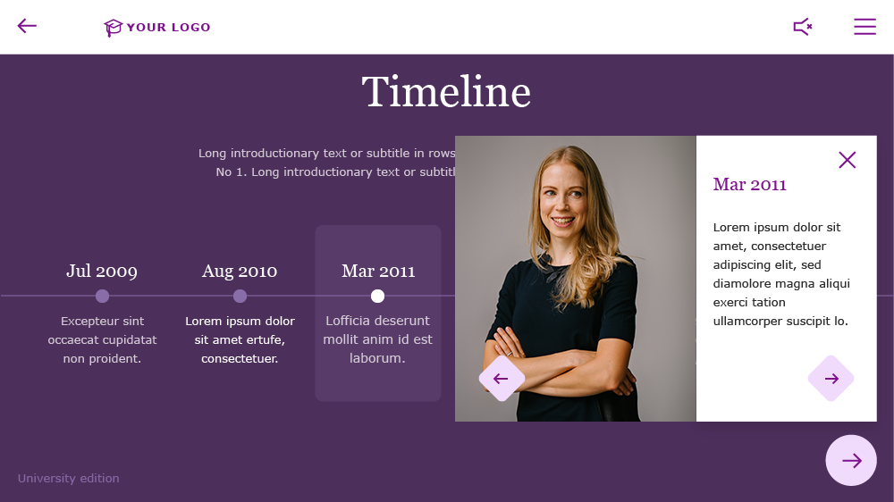 academic elearning template
