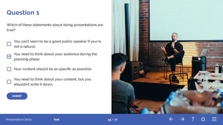 Presentation Skills Course Template
