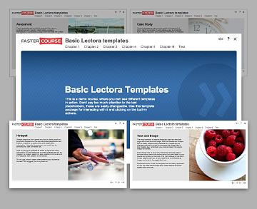 basic lectora templates