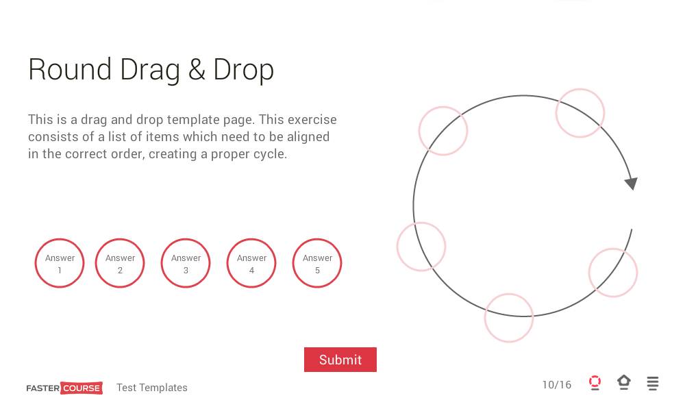 Articulate storyline templates interactive test templates for Weebly drag and drop templates