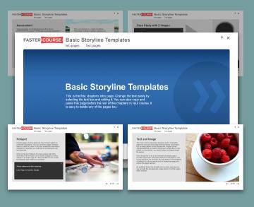 Storyline templates basic