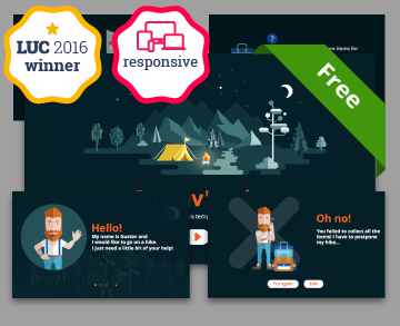 Free Responsive Lectore template