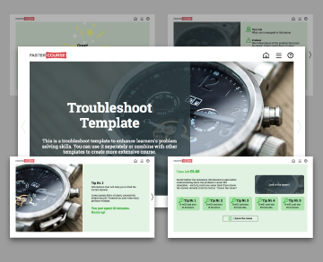 troubleshoot lectora template