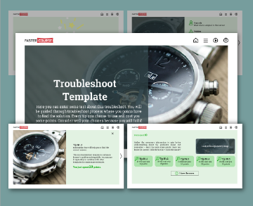 troubleshoot templates
