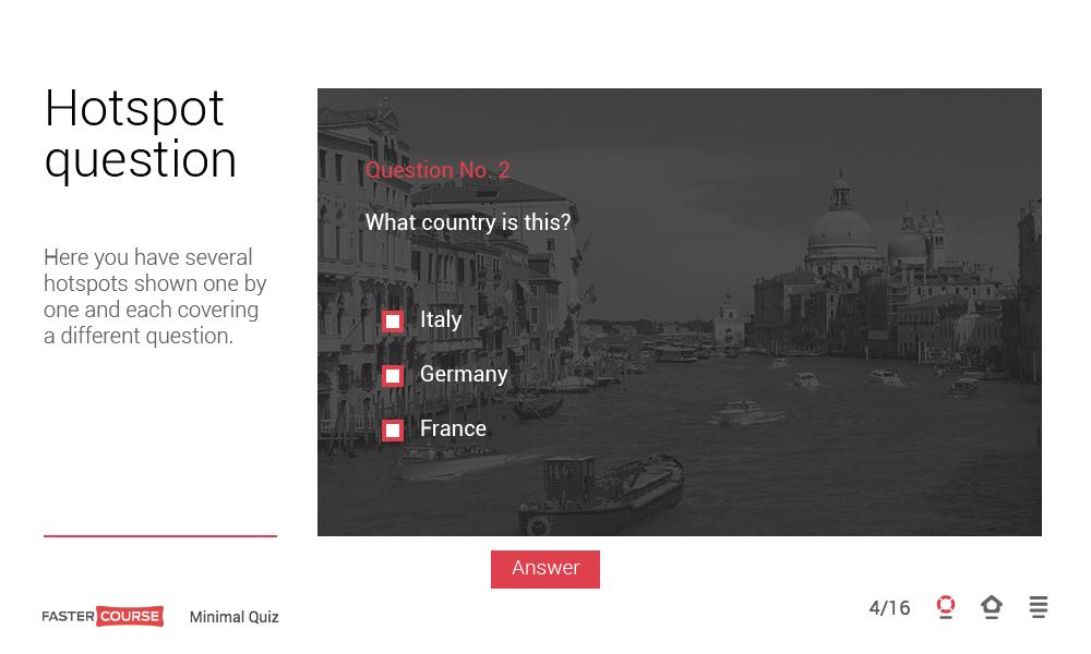 Adobe Captivate interactive quiz templates Minimal contains 8 – Online Quiz Templates