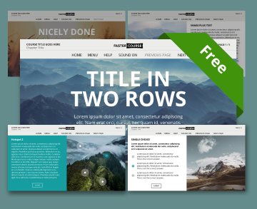 storyline template mountains