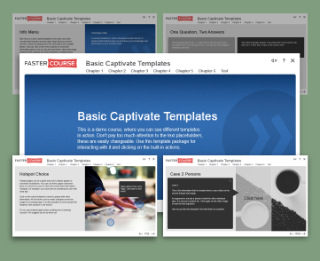 Basic templates captivate