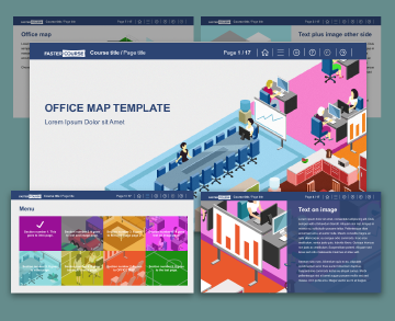 Office Map template