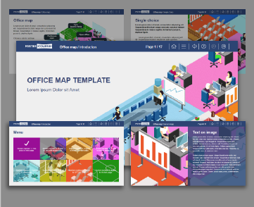 Office Map Lectora