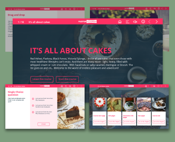 cakes captivate template