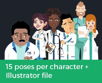 hospital characters