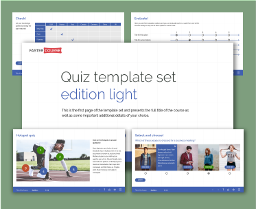 Captivate quiz template