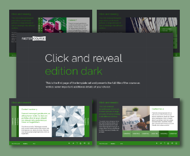 Captivate Dark Click and Reveal