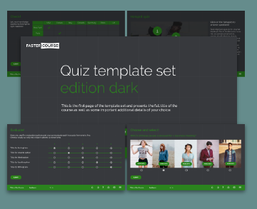 Articulate Storyline Templates Elearning Templates FasterCourse