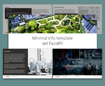 minimal facelift info template