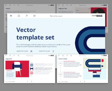 lectora vectors template