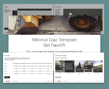 FasterCourse Storyline Minimal Facelift Quiz template