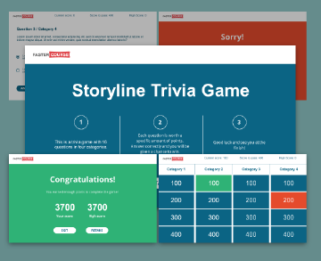 Storyline Templates | Articulate Storyline Templates E Learning Templates Fastercourse
