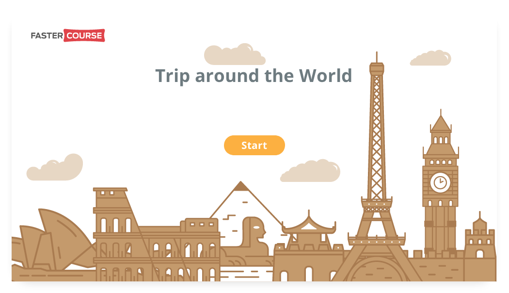 FasterCourse_Storyline_Game_Trip_Around_the_World_img1